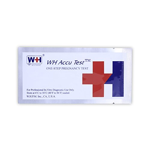 Early Pregnancy (HCG) Test Strips, 20-Count