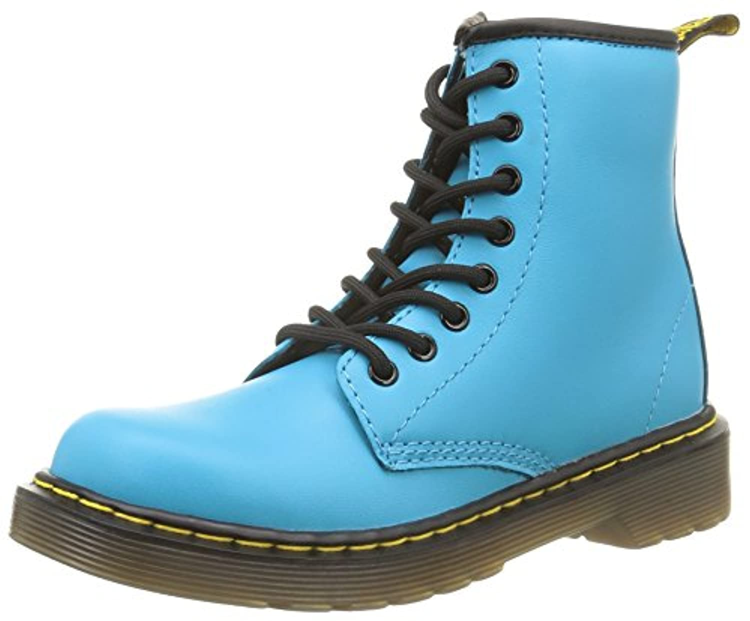 Dr. Martens Delaney Softy T Wild Aqua, Unisex Kids' Boat Shoes, Blue (wild Aqua), 30 EU (11.5 Child UK)