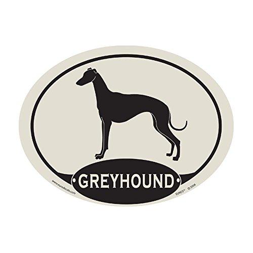 European Style Greyhound Car Magnet (Greyhound Dog Magnet)