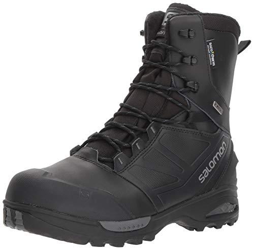 (Salomon Men's Toundra PRO CSWP Hiking Boot, Black/Magnet, 12 M US)