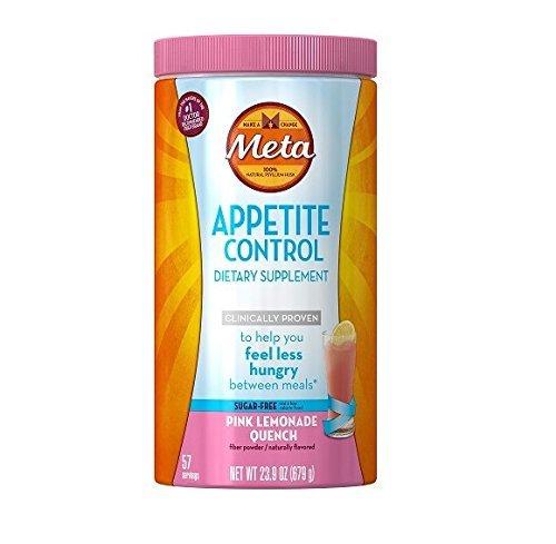 Metamucil Appetite Control Dietary Supplement - Pink Lemonade Quench