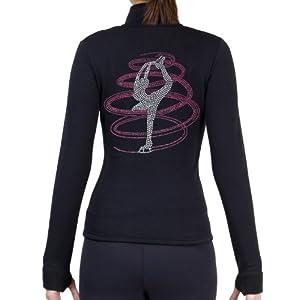 ny2 Sportswear Figure Skating Polar Fleece Fitted Jackets by Polartec with Rhinestones R254RP
