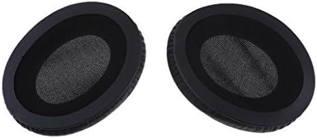 P Prettyia Audio-Technica ATH-ANC7 ANC9 ANC27 ANC29ヘッドフォンの交換用イヤーパッドイヤークッション