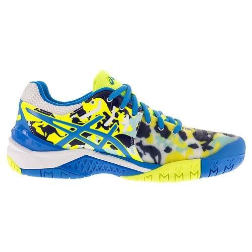 Limited Shoes Asics Resolution Gel Women`s 0143S17 Tennis 7 Melbourne Edition E760Y Yqvx1vwCU