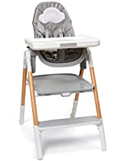 Skip Hop 2 in 1 Convertible High Chair, Sit-to-Step