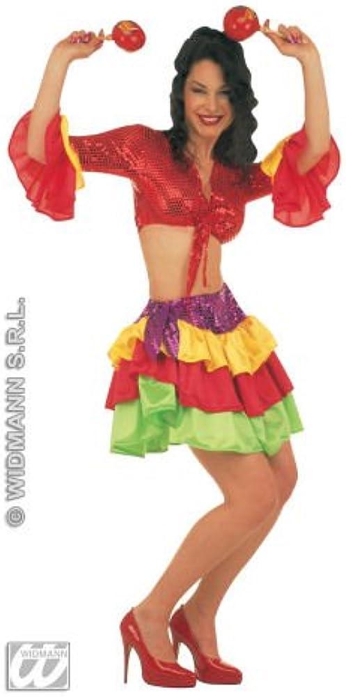 Disfraz rumbera adulto: Amazon.es: Ropa y accesorios