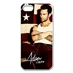 Iphone 5S/5 Adam Levine Maroon 5 USA Flag Retro Vintage Hard Case Cover Protector