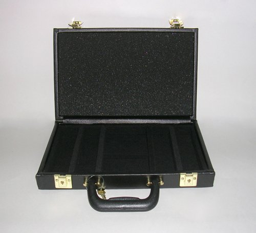 200 Capacity Poker Chip & Card Case by George & Company, LLC