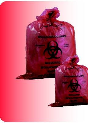 McKesson Infectious Waste Bag 11 X 14 Inch Printed by McKesson (Image #1)
