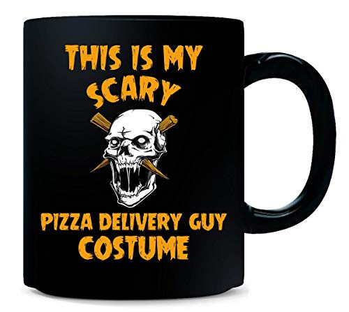This Is My Scary Pizza Delivery Guy Costume Halloween Gift - Mug]()