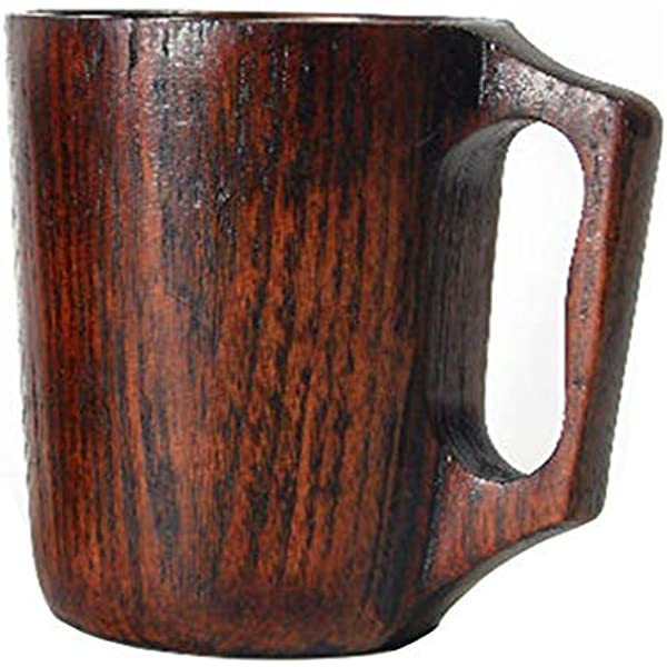 1pc Bamboo Drinking Cup Sake Water Tea Coffee Beer Mug Outdoor Camping Use L