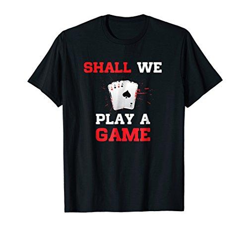 Funny Cards Games Shirt I Poker Skat Bridge Whist (Skat Shirt)