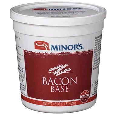 Clam Dip Recipe (Minor's Bacon Base, No Added MSG, 16 Ounce)