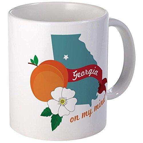 (CafePress Georgia On My Mind Mug Unique Coffee Mug, Coffee)