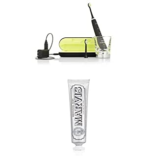 Philips Sonicare DiamondClean Sonic Electric Toothbrush, Black and Marvis Whitening Mint Toothpaste, 3.8 Oz. (B01DJNJND4) | Amazon price tracker / tracking, Amazon price history charts, Amazon price watches, Amazon price drop alerts