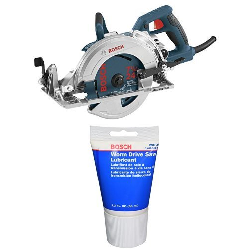 Bosch Worm Drive Circular Saw with Worm Drive Lubricant