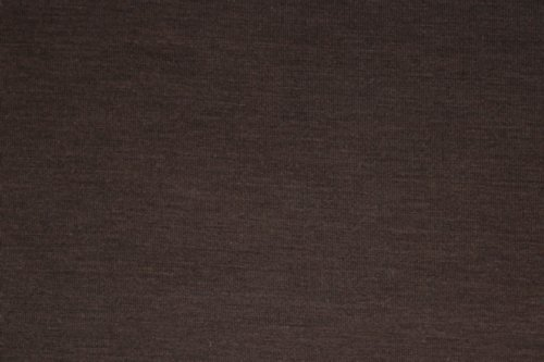 BROWN Poly Rayon Sapndex Jersey Knit Fabric By the Yard By - Knit Brown Fabric
