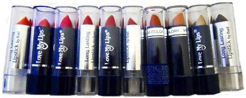 Lipstick - 10pc. Assortiment Set de rouge à lèvres de couleur