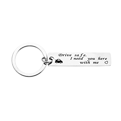 Amazon com: Fansing Jewelry Drive Safe Keychain for Him Her