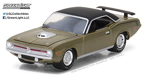 Greenlight 1:64 Muscle Car Series 19 1970 Plymouth Hemi Cuda 1970 Plymouth Hemi Cuda