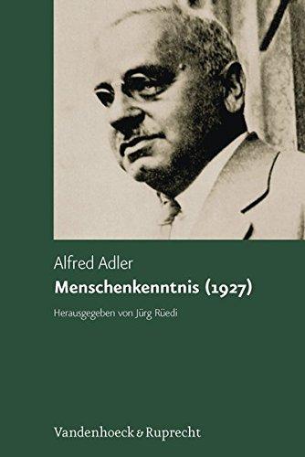 Menschenkenntnis (1927)