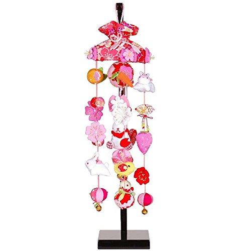 吊るし飾り 桜うさぎ 特小 スタンド付き sb-3-4ss 飾り台セット   B075LCFRRQ