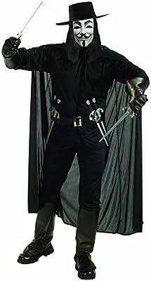 V de Vendetta V pour Vendetta I-888238STD - Disfraz hombre (adulto ...