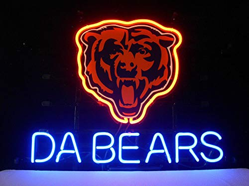 GreeneerG New Da Bears Chicago Bears Beer Light Lamp Neon Sign 14