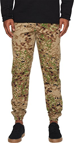Sprinter Pant (Publish Men's Sprinter Camo Signature Jogger Pants Khaki 34W x 30L)