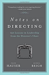 Tips ideas for directors art of theater series jon jory notes on directing 130 lessons in leadership from the directors chair performance books fandeluxe Images