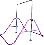 ToyKraft Gymnastics Bar Athletic Expandable Kip Bar for Gymnastics, Training (Purple)