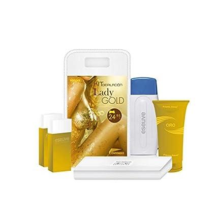 Kit depilacion lady gold eseuve
