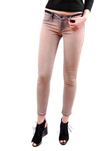 Siwy Women's Hannah Sunrise Jeans Slim Crop Celeb Look Beige Size 26