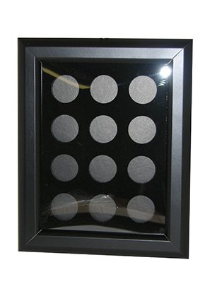 POKER CHIP FRAME (HOLDS 12 CHIPS) by GAMBLER'S GENERAL STORE