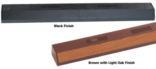 Perfecto Manufacturing APF26484 Marineland Fluorescent Perfect-a-Strip Deluxe Light Reflector for Aquarium, 48-Inch, Black