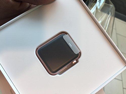 Apple Watch Series 1 38mm Smartwatch (Rose Gold Aluminum Case, Pink Sand...