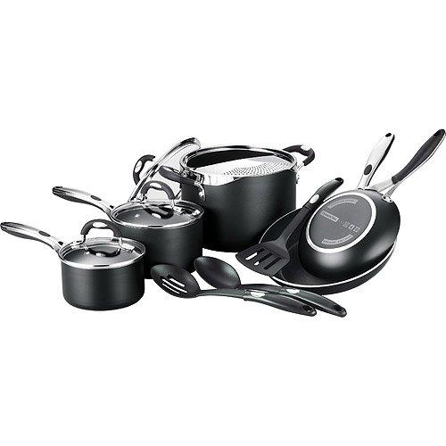 Tramontina 12-Piece EveryDay Nonstick Cookware Set, Black
