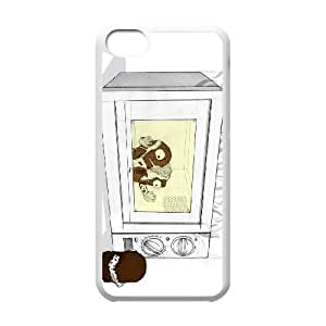 chocolate marshmallow iPhone 5c Cell Phone Case White yyfD-224025