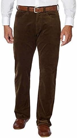 Kirkland Signature Men/'s 5-Pocket Corduroy Pant Waist 36 Leg 32 NEW Charcoal