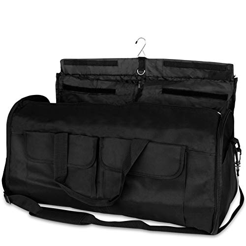 Olivia & Aiden 2-in-1 Travel Garment Bag | Duffel/Hanging Carry On |Travel ()