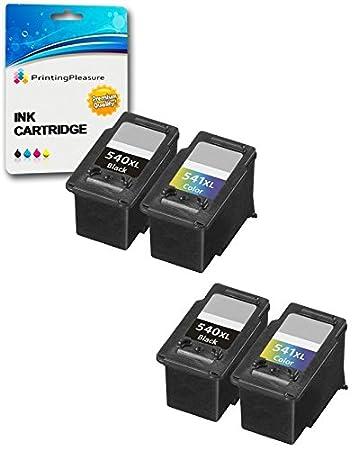 Compatible PG-540XL Cartucho de Tinta para Canon Pixma MG2150 MG2250 MG3150 MG3250 MG3500 MG3550 MG3650 MG4150 MG4250 MX375 MX395 MX435 MX455 MX475 ...