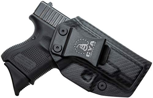 CYA Supply Co. IWB Holster Fits: Glock 26 / Glock 27 / Glock 33 - Veteran Owned Company - Made in USA - Inside Waistband Concealed Carry Holster ()