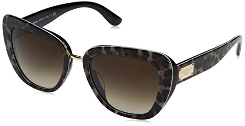 Dolce-Gabbana-Womens-Acetate-Woman-Square-Sunglasses-Leoprint-55-mm