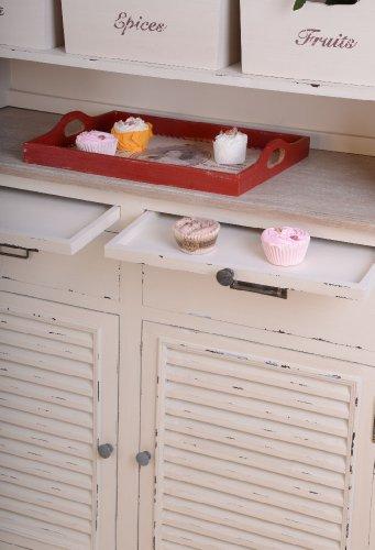 nostalgische anrichte k chenbuffet k chenschrank schrank buffetschrank f r k chen im. Black Bedroom Furniture Sets. Home Design Ideas