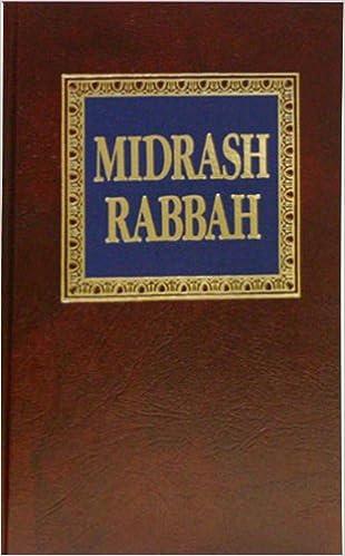Soncino Midrash Rabbah Pdf