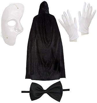 Robelli Fantasma de la Opera Disfraz de Halloween Juego: Amazon.es ...