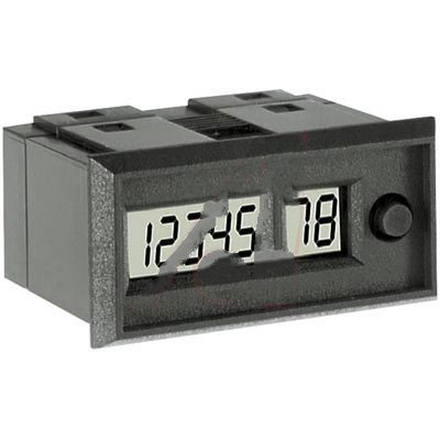 Veeder-Root 079998D-110, Counter; Totalizer; 18 VDC (Max.); LCD; 8; Screw Terminal; 30 Hz