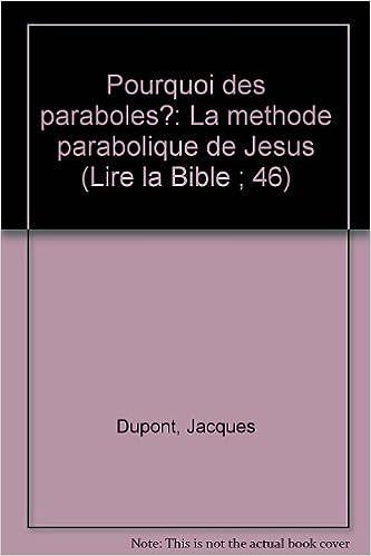 En ligne Pourquoi des paraboles ? pdf epub