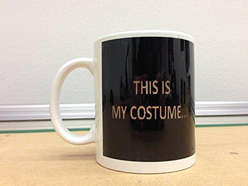 Halloween Debbie Costume (This Is My Costume Halloween Coffee Mug 11)