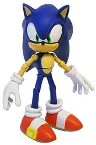 Sonic The Hedgehog Through Time - Muñeco moderno de Sonic (vinilo, 25,5 cm)